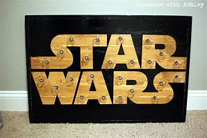 Star Wars Diy : diy star wars marquee wall art tutorial handmade with ashley ~ Orissabook.com Haus und Dekorationen