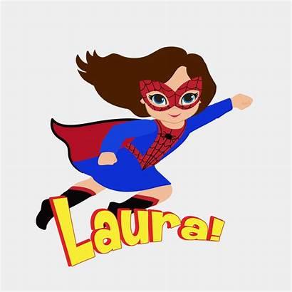 Spider Spidergirl Clipart Hero Flying Clipground Bodysuit