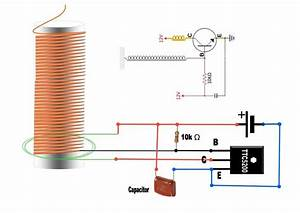 Tesla Coil Slayer Exciter Circuit Diagram With Components