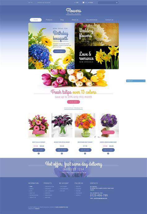 Store Theme Flowers Store Shopify Theme 52090