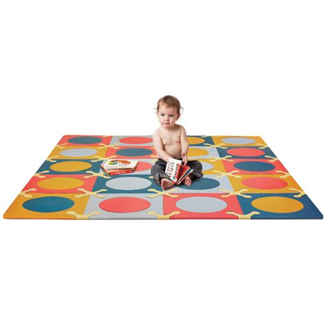 skip hop floor tiles skip hop playspot floor mat brights 20 count