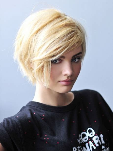 short hairstyles  thick straight hair