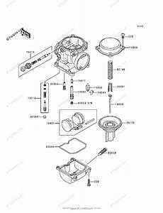 Kawasaki Motorcycle 2000 Oem Parts Diagram For Carburetor