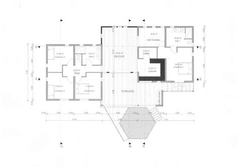 plan maison moderne 5 chambres plan maison 5 chambres bureau