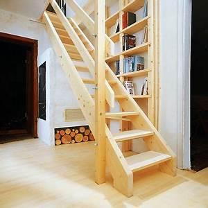Haustür Treppe Selber Bauen : wangentreppe dachbodentreppe ~ Watch28wear.com Haus und Dekorationen