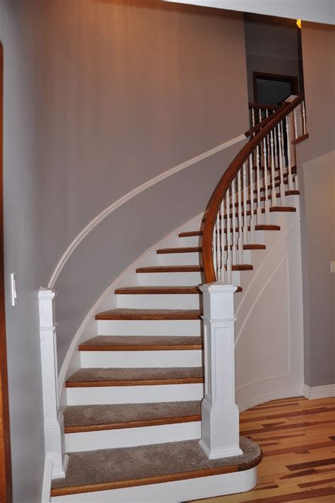 curved staircase updated