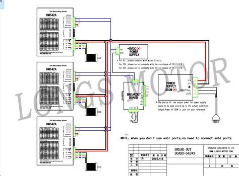 german ship 3axis nema23 stepper motor 425oz in dual shaft dm542a cnc router