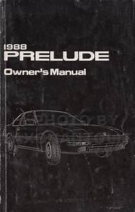 1988 Honda Prelude Electrical Troubleshooting Manual Original