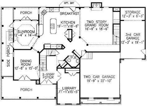 stacked porches ge  floor master suite bonus room cad  corner lot