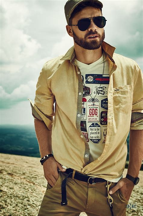Amazing Rugged Men Fashion Ideas