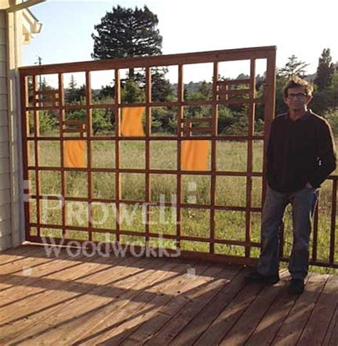 wood trellis plans woodproject