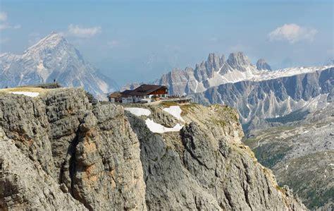 View Of Dolomites From Lagazuoi Refuge Stock Photo Image