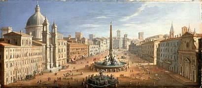 Piazza Navona Rome Van Lacma Lint Facts
