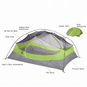 Nemo Dagger 3p  3 Person Ultralight Backpacking    Hiking Tent