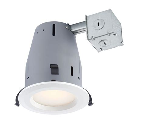 led recessed lighting kit electric recessed led white kit 4 pack 4 inch