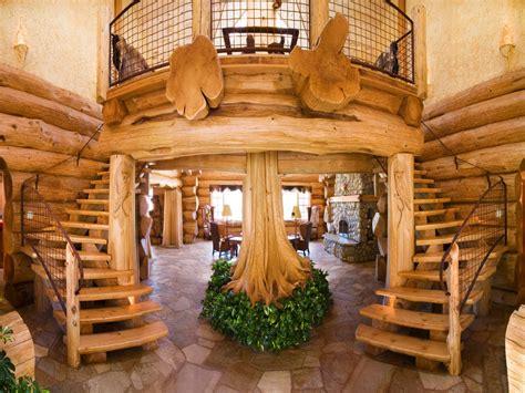 luxury log cabin home luxury mountain log homes cool log