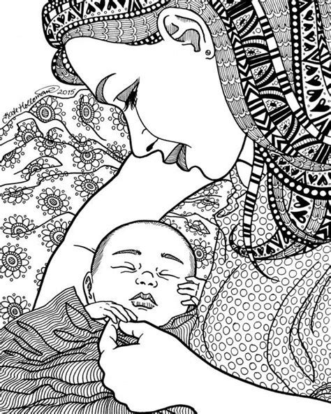 244 best images about New baby coloring on Pinterest | Coloring, Coloring for adults and Baby barbie