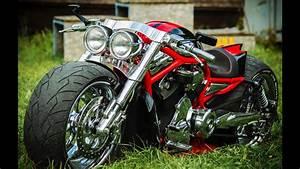Harley Davidson V Rod Usa Muscle Custom Motorcycles