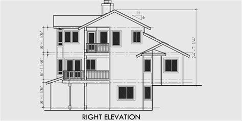 multi level home plans view house plans sloping lot house plans multi level