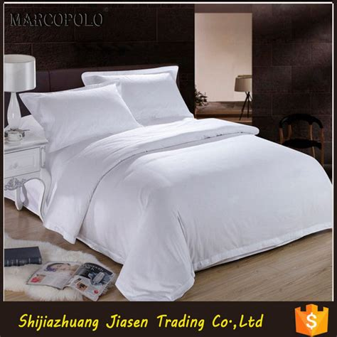 China Supply Custom Hotel Bed Linen Manufacturer From