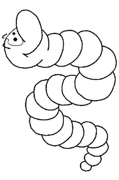 Kleurplaat Regenworm by Kleurplaten Dieren Diversen