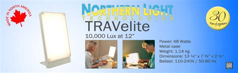Amazon.com: Northern Light Technology Travelite 10,000 Lux