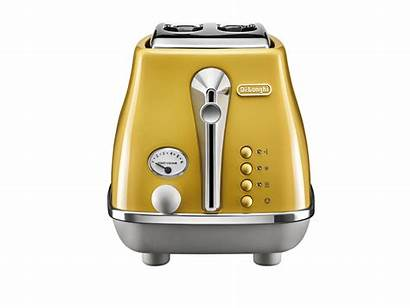 Yellow Delonghi Toasters Toaster Capitals Icona Slice