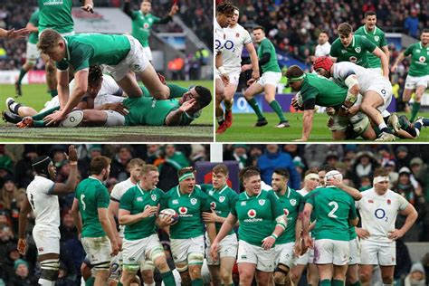 England 15 Ireland 24 LIVE SCORE: Irish seal historic ...