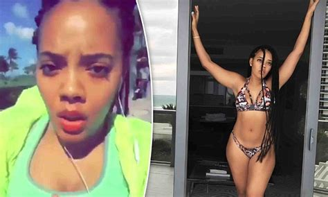 Angela Simmons Flaunts Bikini Body For The First Time