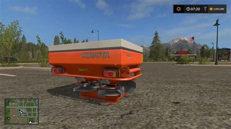 salt ls for kubota fertilizer spreader v1 0 for ls17 farming