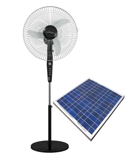 solar powered home fans eco wing 16 inch hybrid solar pedestal fan with solar