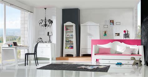 chambre ado complete pinio parole fille garçon 5 meubles lit 200x90