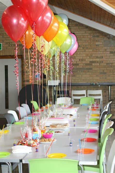 Geburtstagsparty Deko Ideen geburtstag deko ideen