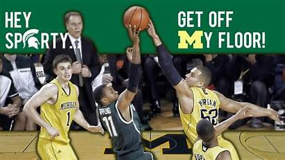 Basketball Sparty College Wallpapers Michigan State Floor