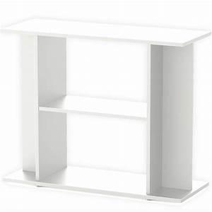 meuble blanc avec etagere aquatlantis pour aquarium de 100 With meuble aquarium 100 x 30