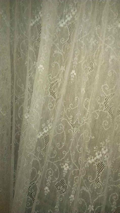 antique net lace curtain panel curtains curtain panels