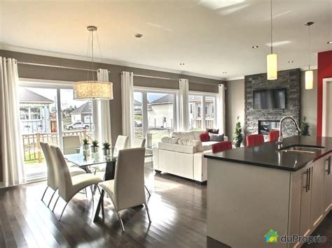 cuisine neuve salle a manger cuisine maison neuve a vendre mirabel