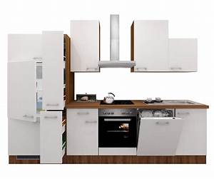 Küchenzeile 310 Cm Mit Elektrogeräten : k chenzeile cosmo k che mit e ger ten 15 teilig breite 310 cm wei k che k chenzeilen ~ Bigdaddyawards.com Haus und Dekorationen