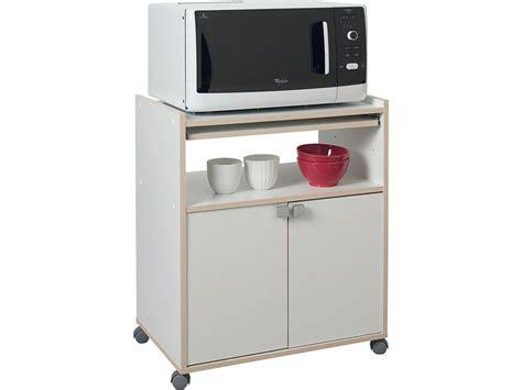 meuble cuisine micro onde meuble micro ondes cumin coloris blanc tous les produits