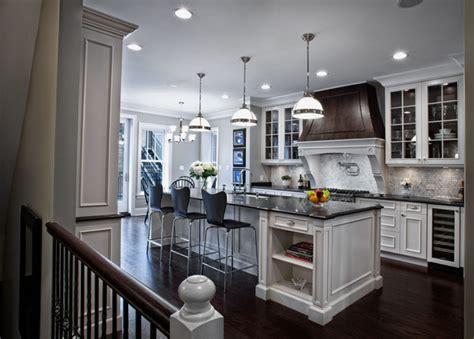 elegantly detailed kitchen traditional kitchen