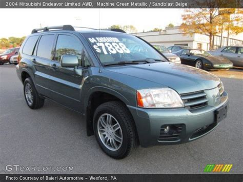 2004 Mitsubishi Endeavor Limited by Machine Green Metallic 2004 Mitsubishi Endeavor Limited