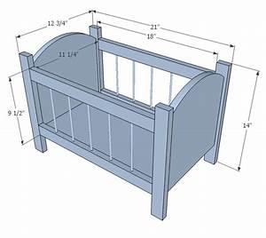 Woodworking Baby cradle plans dimensions Plans PDF