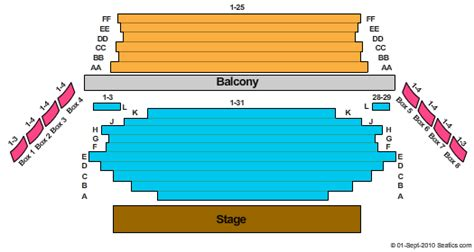 92049 Theatre Royal Promo Code by Royal George Theatre Seating Chart