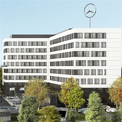 mercedes siege social futur siège de mercedes office et culture