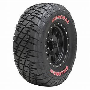 general grabber 33x1250r15c 108q srl With red letter tires general