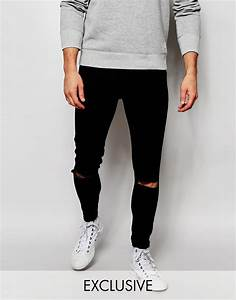 Lyst - Cheap Monday Exclusive Jeans Mid Spray Extreme ...