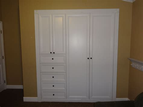 Wall Closet by Turn Your Standard Wall Closet Into A Custom Built In