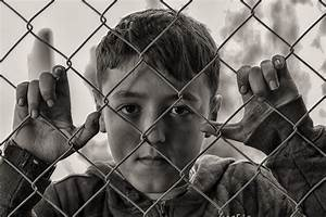 Free Images : person, black and white, boy, child, sad ...