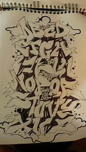 New Graffiti Alphabet ~ graffiti alphabets and font ...