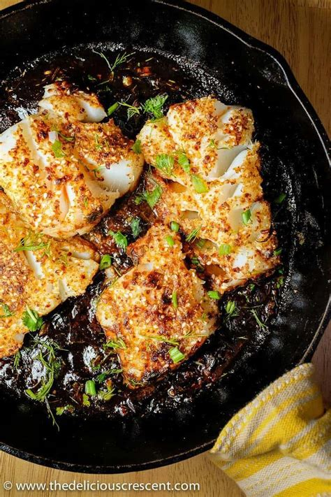 spicy pan seared fish with tamarind sauce the delicious crescent